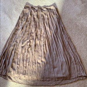 Chicos long dressy skirt